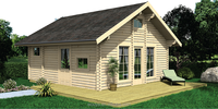 prefab cottage house wooden cottage living wooden house