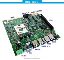 low price Intel i3/ i5/ i7 Processor with 6xcom & 6xUSB industrial Mini Itx Motherboard