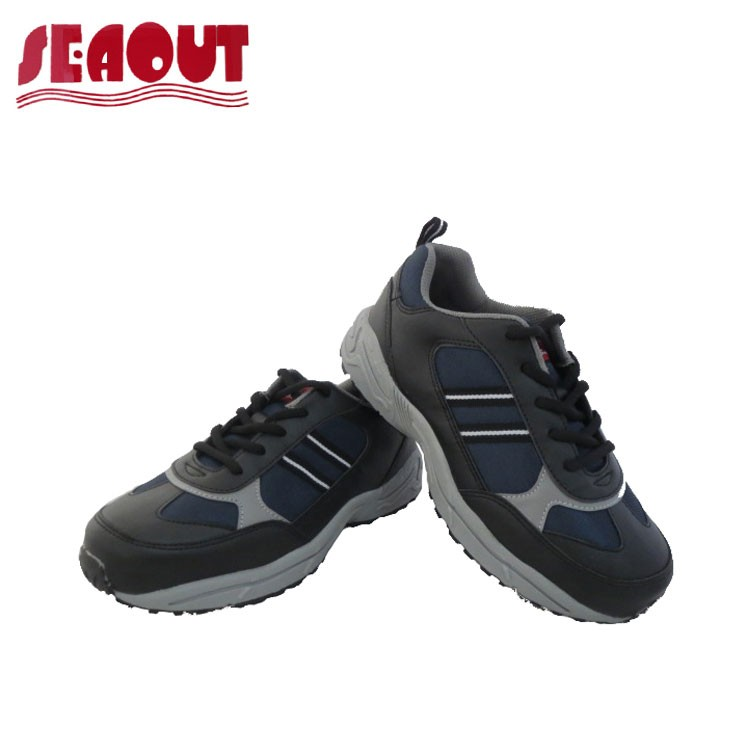 Most Durable Outdoor Mens Leather Safety Shoe