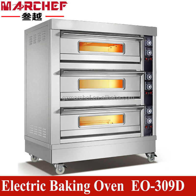 EO-309D_Double Deck_Commercial Food Kitchen Restaurant Equipment/Toaster Oven