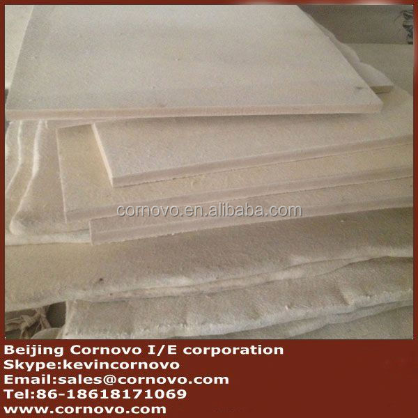 high quality wool felt 6mm thick white