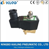 IP65 Coil Two Way Brass Mini Solenoid Control Valve