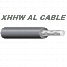 600 Voltage Building Wire Aluminum Alloy Conductor Cable with XLPE Insulation XHHW Cable