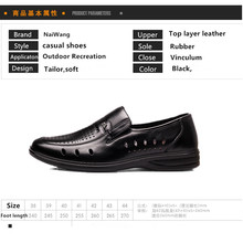 Top 10 Shoes Suppliers China cheap mens kangaroo handmade genuine leather shoes with large stock