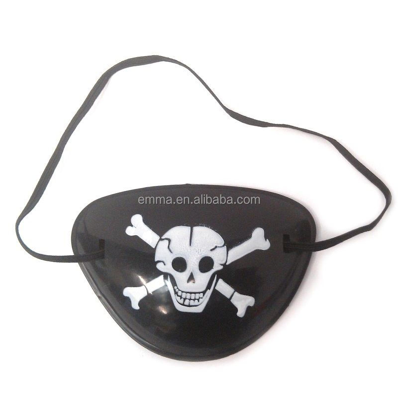 Pirate Eye Patch Captain Jack Toy Gift Boy Girl Birthday Party Bag Fillers PE17003