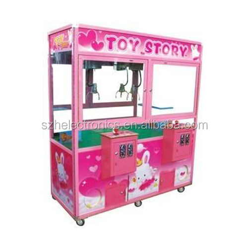 Toy Story Crane Claw Arcade Game Machine For Sale