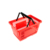 wholesale supermarket carry plastic shopping basket