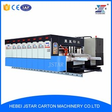 pizza box printing machine/ carton box printing machine in china