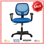 Commercial furniture white mesh back office chair