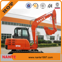 NANTE FACTORY PRICE 6 Tons Mini Excavator for sale