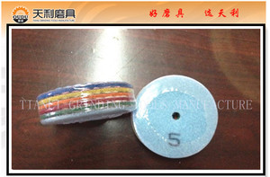 5 Step Angle Grinder Dry Diamond Polishing Pads