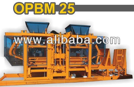 CONCRETE BLOCK BRICK INTERLOCK PAVING CURBSTONE MAKING MACHINE