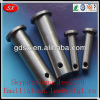 Custom various type galvanized clevis pin sizes threaded