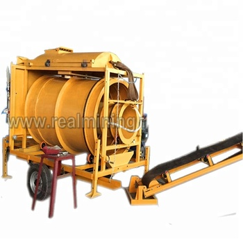 Security and reliable for gold digger used trommel screen for sale