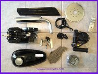 new 2 stroke 80cc Motor Bicycle Engine Kit/ Motorized Bike Gas Kits
