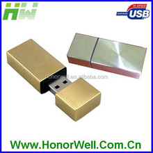 Solid Metal Brick Usb Flash Drive Drive Disk Stick