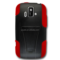 T-Stand Dual Layer Armor Case With Kick Stand For ZTE Radiant z740