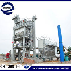 LB2000 160t/h Asphalt Batch Mixing Plant with the good quality guarantee