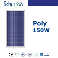 High efficiency and the best price Polycrystalline solar panels 150w