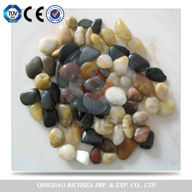 High Polished Stone Pebbles , Black Pebble , White Pebble Hot Sale