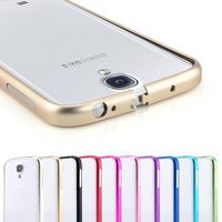 Ultrathin Aviation Screws Frame S4 Phone Cover Ultra Thin Metal Luxury Aluminum Bumper Case For Samsung Galaxy S4 i9500
