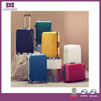 high quality abs pc trolley luggage set 20'' 24'' 28''/luaaage bag/travel luggage