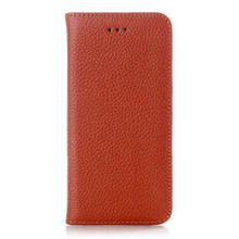High Quality Lychee Embossed PU Leather Case, Mobile Phone Flip Holder Back Cover For iPhone 6 6 Plus