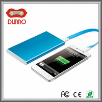 New products high quality mobile portable power bank aluminium alloy power bank 2200mAh for mobile phone