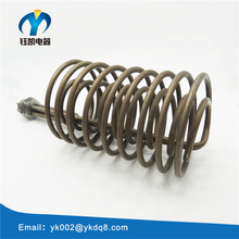 SS304 spiral coil air tubular heater for Toaster Oven
