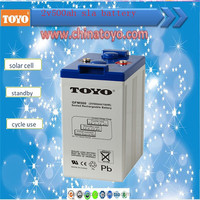 Best price 2v500ah lead acid battery for fire alarm and security system deep cycle battery