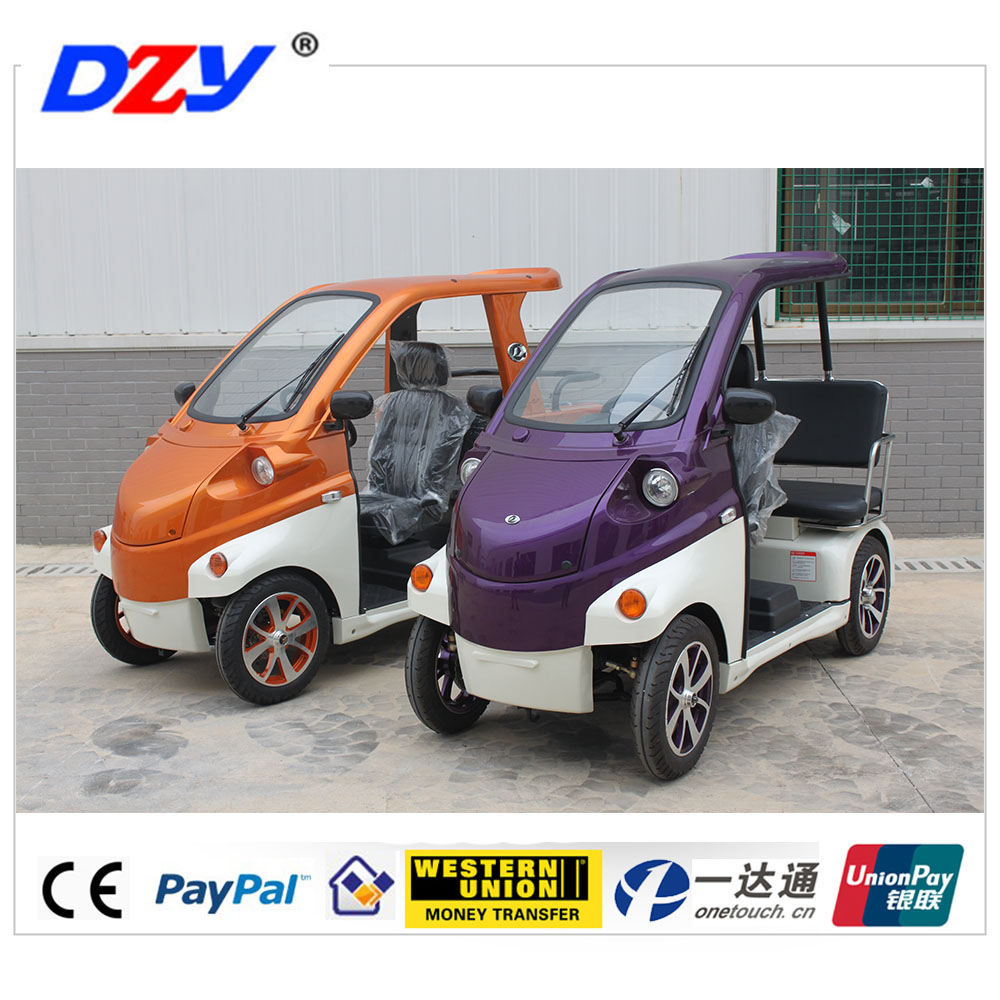 3 seaters electric golf car for disabled