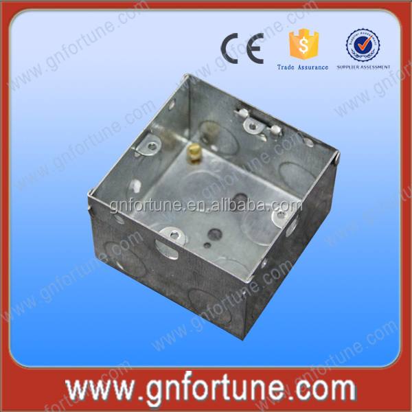 2015 CE BS4662 1+1G Metal Junction Box