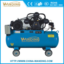 WANDING 100L 8bar 4hp three cylinder type ac piston belt-driven cheaper industry air compressor