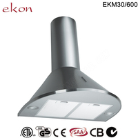 60cm Mechanical Switch Chinese Kitchen Exhaust Range Hood