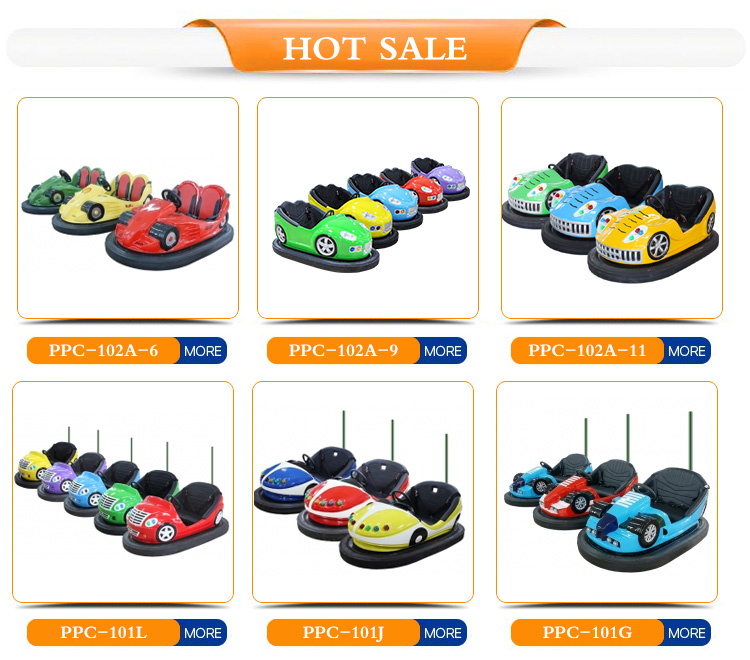 2019 New Design High Quality Electric Battery Ce Certificate Dodgem Car Remote Control Colorful Battery-driven Bumper Car