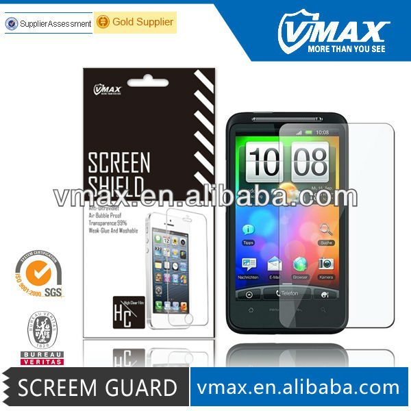 Cell Phone accessories waterproof Screen Protector for HTC Desire HD/HTC Desire HD Z