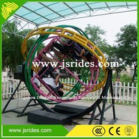 Amusement park ride manufacturers sell mechanical human gyroscope