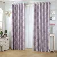 Fancy design polyester curtains with beautiful pattern
