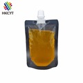 Free Shape Small Plastic Spout Bags Packaging For Jelly