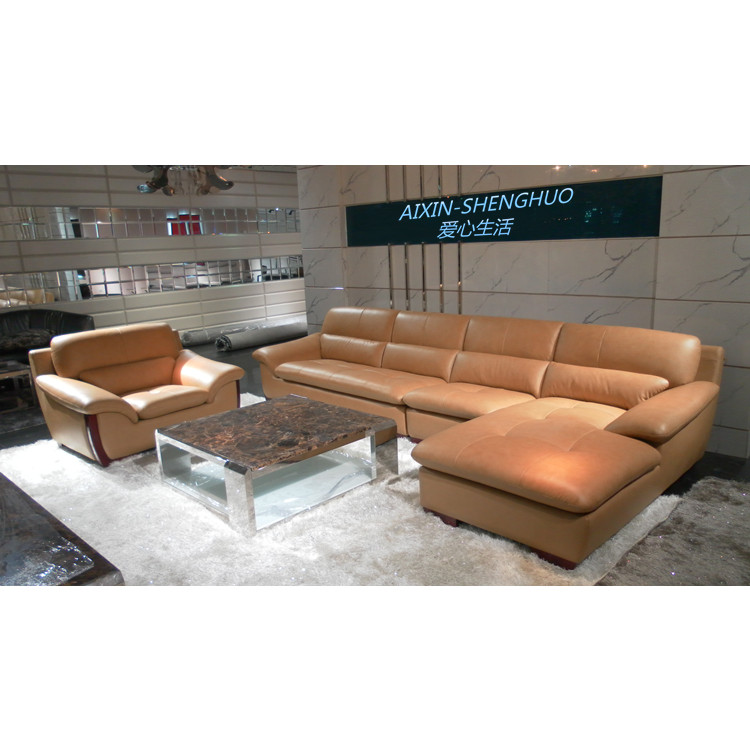 Get Quotations Factory Direct Whole Leather Sofa Corner Living Room Furniture2160