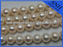 2016 12-13mm near round fresh water large pearl strand