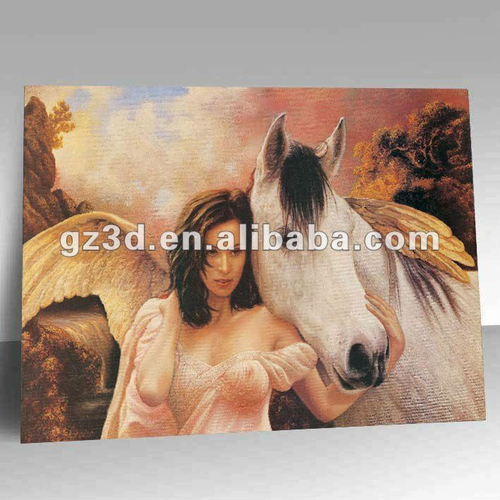 Eco-friendly PET material made hot sexi chines girl picture for bathroom decoration