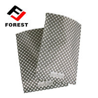 Black paper bag packaging small paper gift bags
