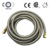 stainless steel wire flexible braided gas hose with CSA CE