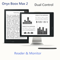 Boox 13.3 inch e-reader 2200 x 1650pix resolution ebook reader android Max 2 with e ink monitor
