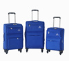 2016 best selling pvc+nylon fabric luggage trolley suitcase in 20'' 24'' 28''