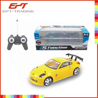 Wholesale fashion rc toy car 5 function 1:14 scale