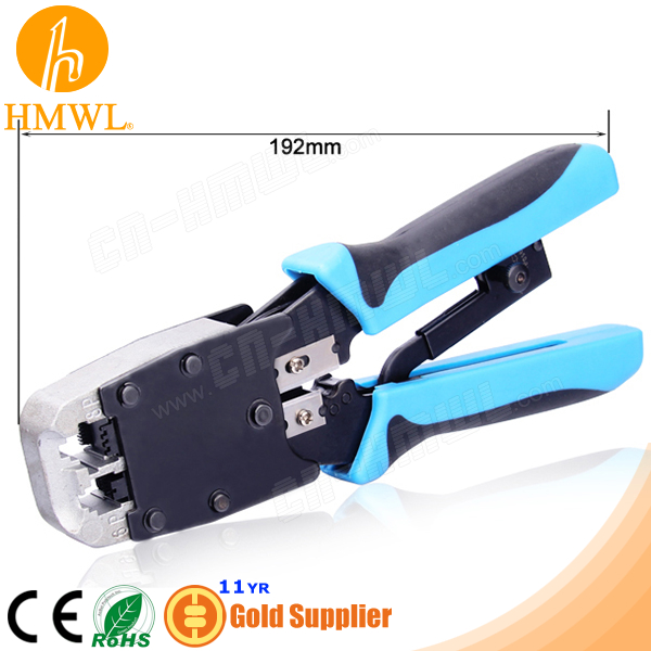 RJ12 RJ45 Crimper Tool with Ratchet