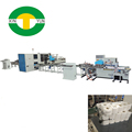 Newest automatic toilet roll paper machinery production line