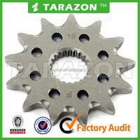 Novel item high quality motorcycle chain sprocket sprocket sets